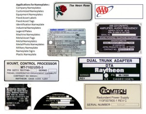 Custom Nameplates - Industrial Marking Services